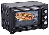Mini Backofen 25 Liter   Pizza-Ofen   3in1 Backofen   Minibackofen   Miniofen   Krümelblech   Ober-/Unterhitze   Konvektion   60 minTimer   1.600 Watt